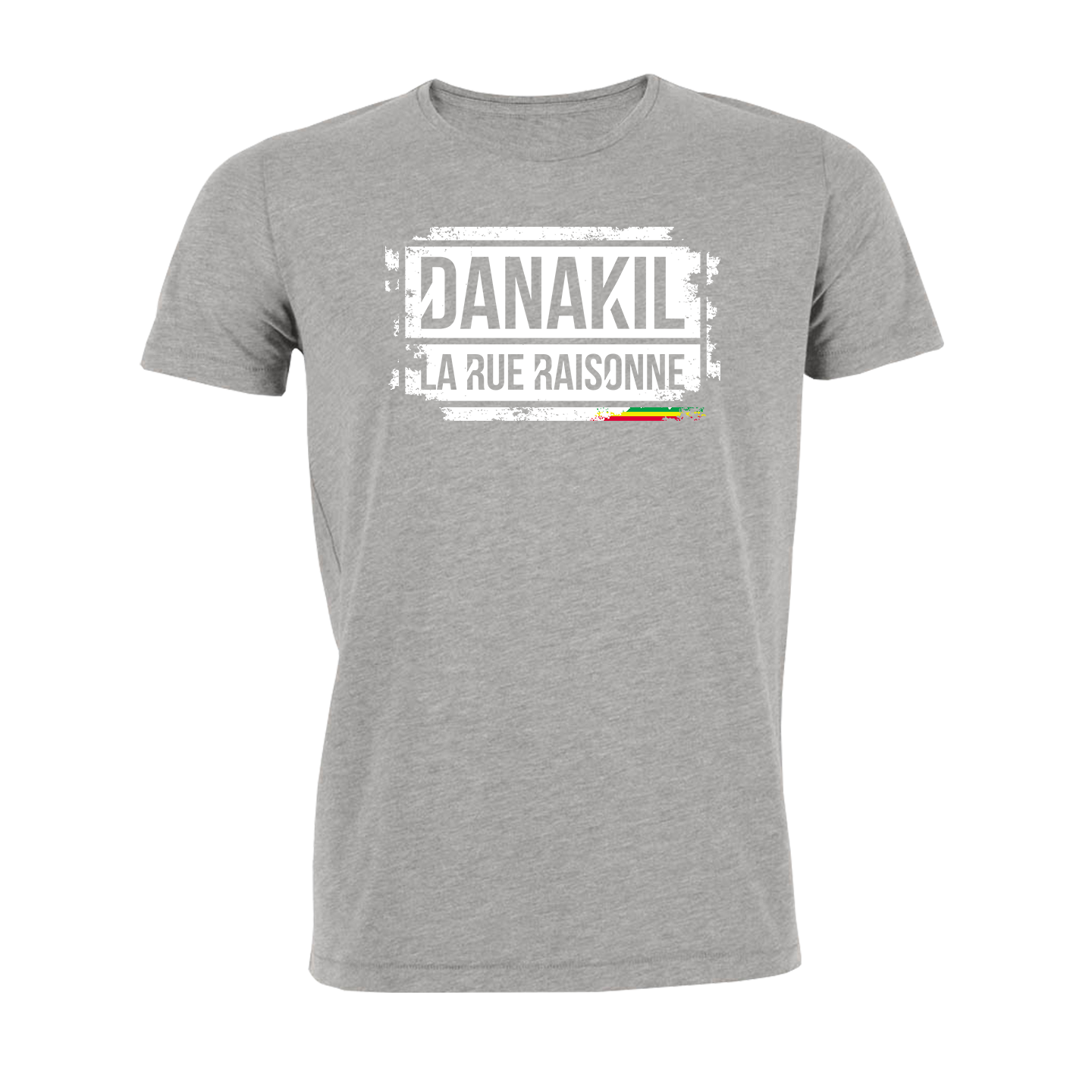T Shirt Danakil Tampon Red
